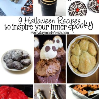 These 9 Halloween Recipes to Inspire Your Inner Spooky are fun and creative! Perfect to serve at your next Halloween party or to enjoy just because.   EverydayMadeFresh.com