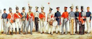 Painting by Charles Stadden. RM Museum Charles Stadden - ORIGINAL