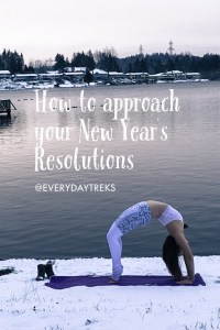 How to approach your New Year's Resolutions