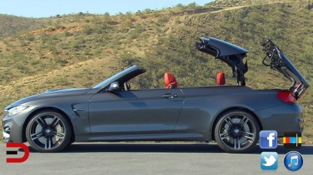 2015 BMW M4 Convertible First Review on Everyman Driver Topless