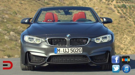 2015 BMW M4 Convertible First Review on Everyman Driver front