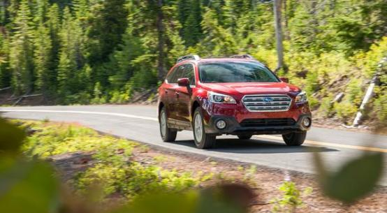 2015 Subaru Outback on Everyman Driver with Dave Erickson
