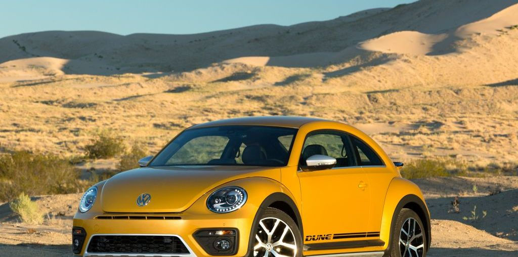 2016 Volkswagen Beetle Dune on Everyman Driver