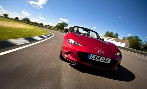 All-new Mazda MX-5 named Britain's Best Real-World Driver's Car
