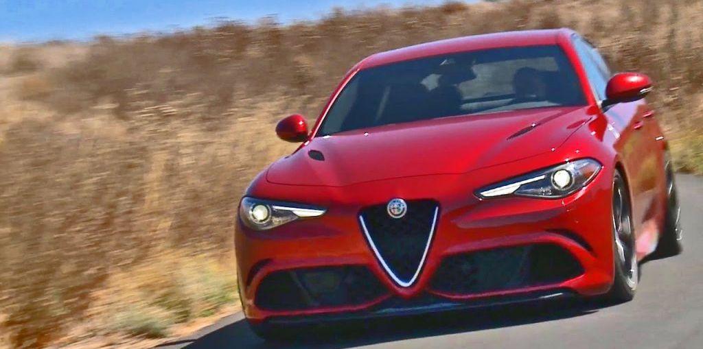 2017 Alfa Romeo Giulia on Everyman Driver, Dave Erickson