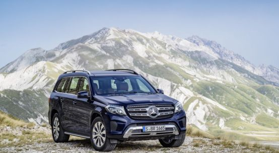 2017 Mercedes GLS450 4MATIC
