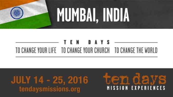 Mumbai Missions Trip
