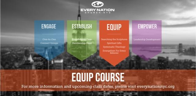 Equip Course Spring 2016
