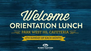 WS Orientation Lunch