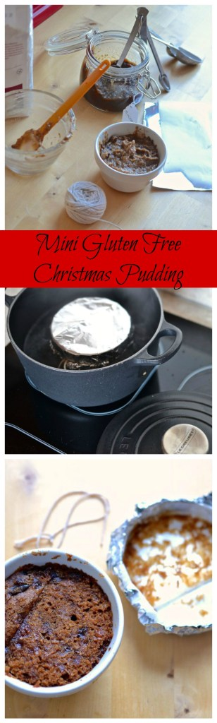 Mini Gluten Free Christmas Pudding
