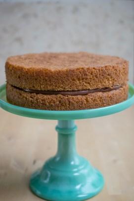 Hazelnut Celebration Cake-4