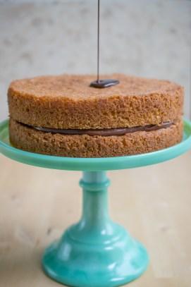 Hazelnut Celebration Cake-5