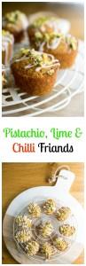 pistachio, lime & chilli friands