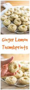 ginger lemon thumbprints