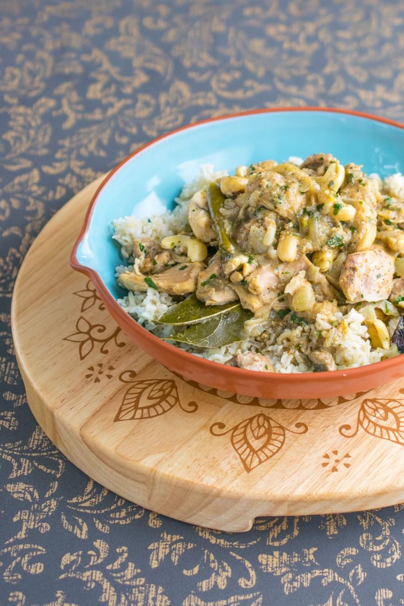Instant Pot Cashew Chicken Curry