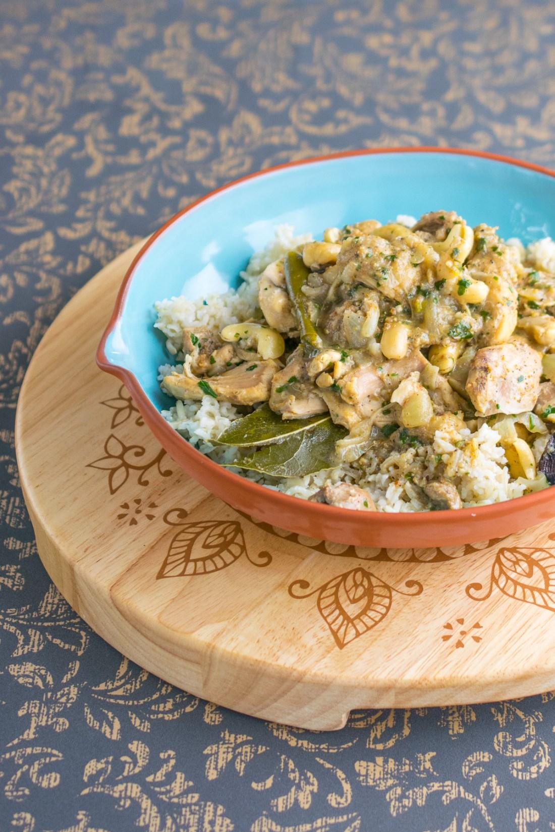 instant pot cashew chicken curry-2