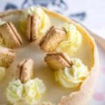 IP Custard Cream Cheesecake
