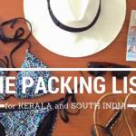 The Ultimate Kerala Packing List