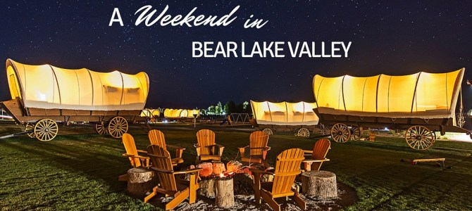Blue waters, sports and glamping in Bear Lake Valley: discover the Caribbean of the Rockies