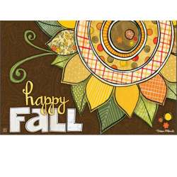 Cool Happy Fall Matmates Insert Doormat 18x30 11198mw Happy Fall Images Quotes Happy Tuesday Fall Images photos Happy Fall Images