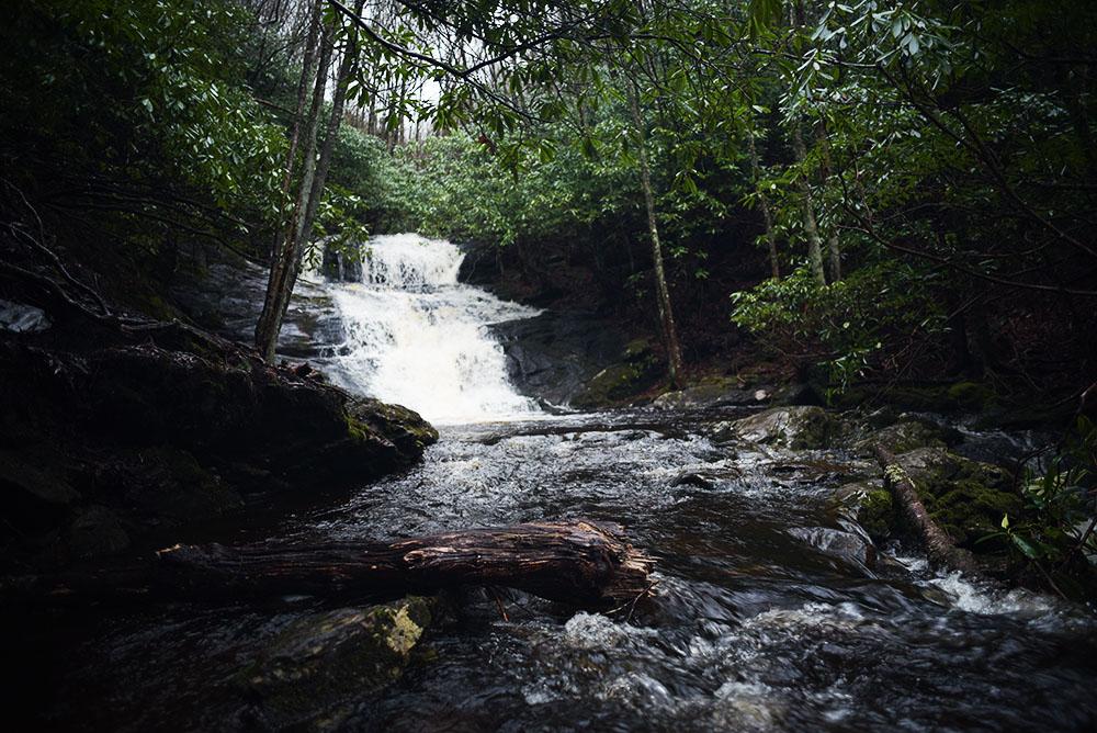 Laurel Falls, Nantahala Forest, North Carolina, Travel, Hiking, Waterall