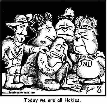 We are all hokies today.