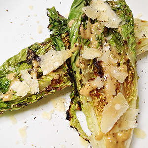 Evo Recipe Grilled Caesar Salad