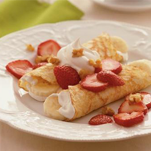 Evo Recipe Strawberry Crepes