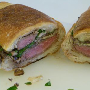Evo Recipe Shooter Steak Sandwich