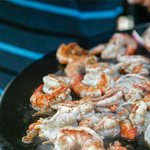 Evo Recipe Grilled Jumbo Shrimp