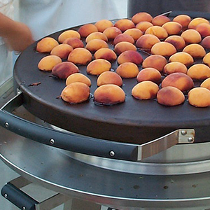 Evo Recipe Brown-Sugar Grilled Peaches