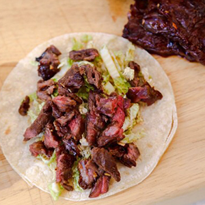 ASIAN CARNE ASADA TACOS