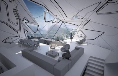 Lo Monaco House by Tom Wiscombe Design - eVolo | Architecture Magazine