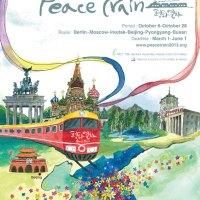 Peace Train: Ökumenische Zugfahrt um die halbe Welt