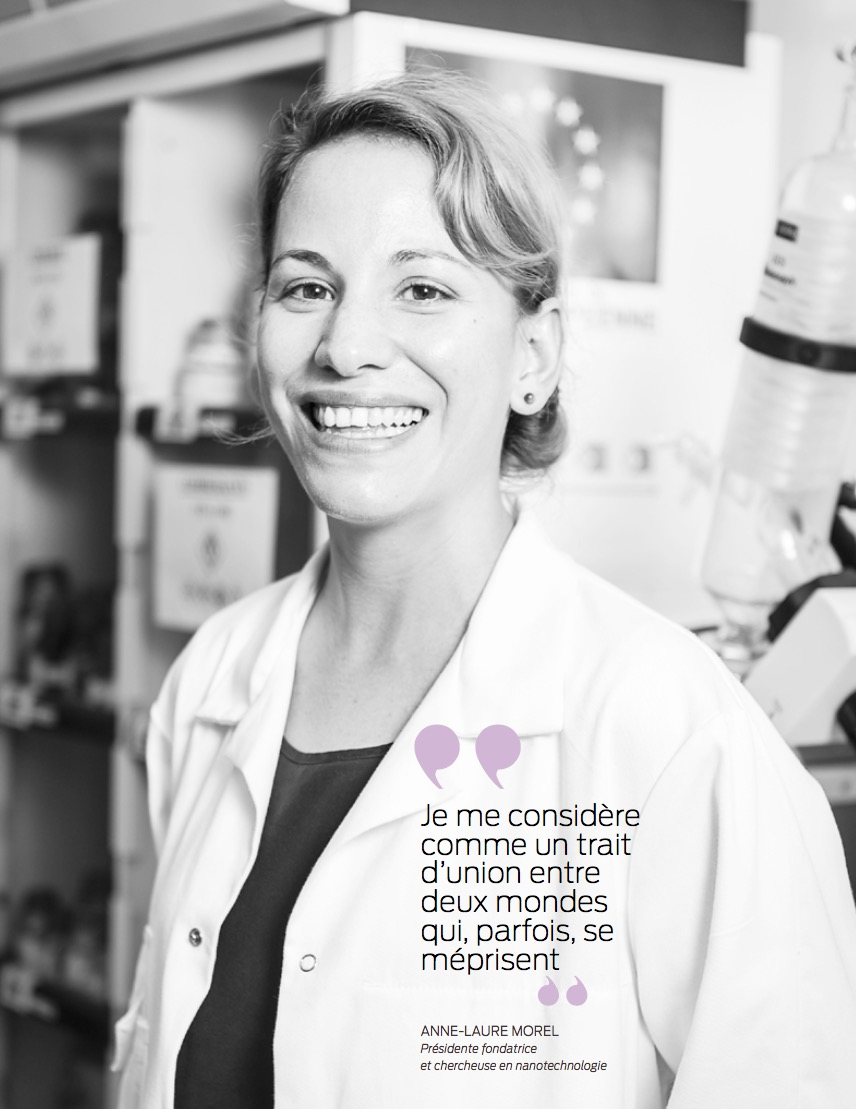 Anne-Laure Morel, entre science et business sans complexe