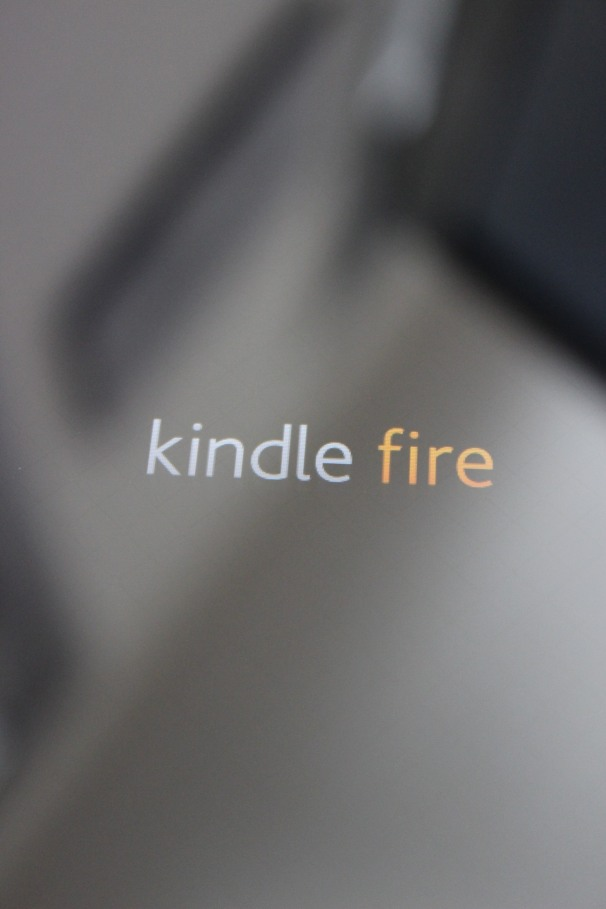 Kindle Fire screen after switch to fastboot mode.