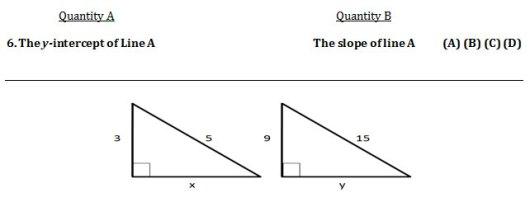 GRE Practice Question 6