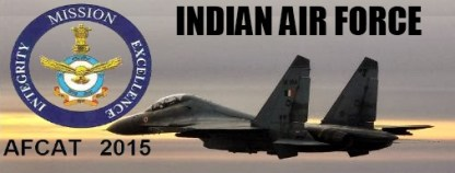 AFCAT IAF Admit Card 2015