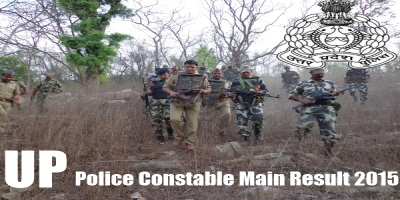 UP Police Constable Main Result 2015