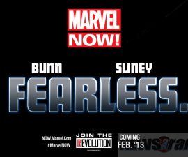"""Cullen Bunn and Will Sliney Will Be """"Fearless""""!"""