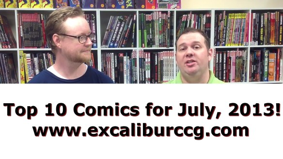 Top 10 Comics for July, 2013!