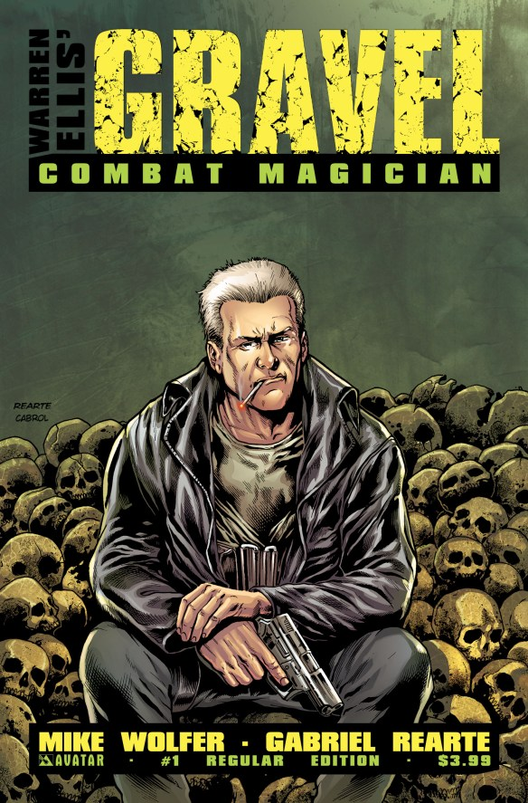 Gravel Combat Magician #1 from Avatar Press