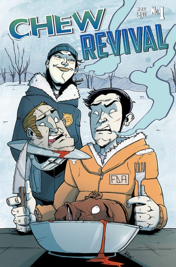 Chew/Revival #1 from Image Comics