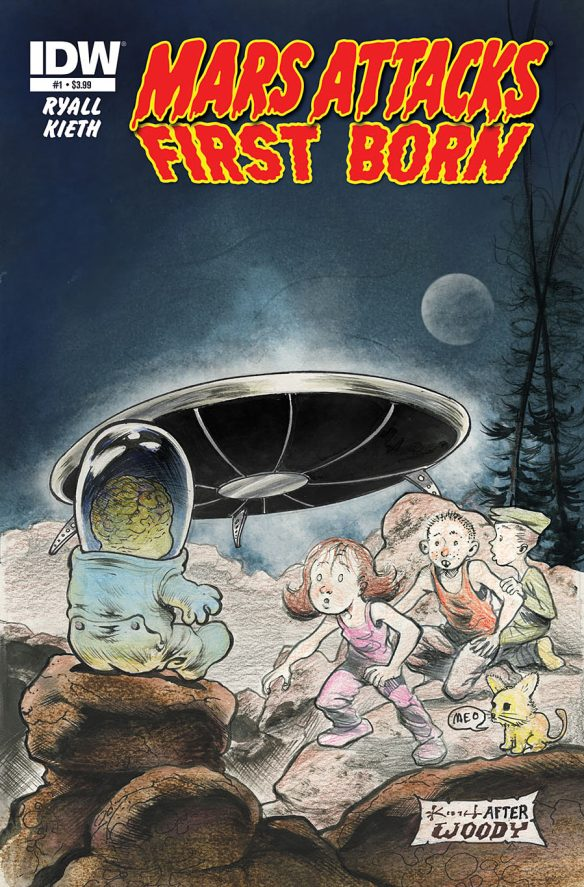 Mars Attacks: First Born #1 from IDW Comics