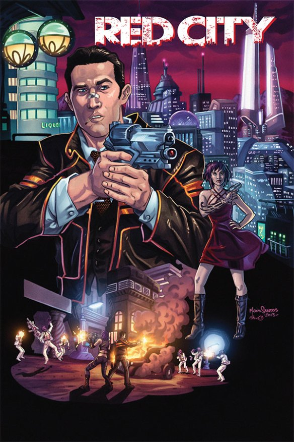 Red City #1 from Image Comics