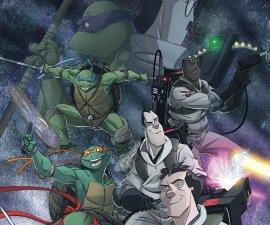 Teenage Mutant Ninja Turtles/Ghostbusters #1 from IDW Comics