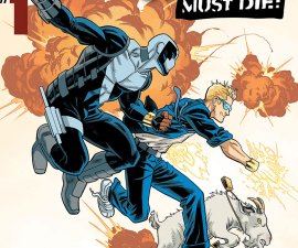 Quantum and Woody Must Die! #1 from Valiant Comics