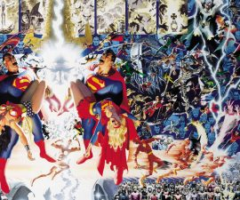 Crisis on Infinite Earths Deluxe Edition HC from DC Comics
