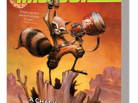 Rocket Raccoon Vol. 1: A Chasing Tale TPB from Marvel Comics