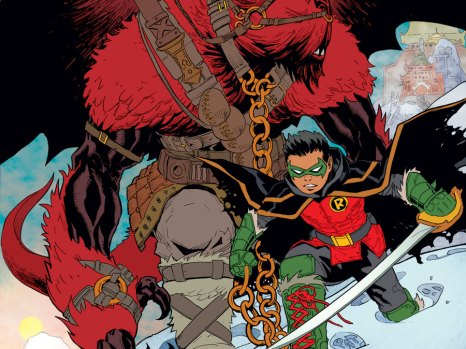 Robin: Son of Batman Vol. 1 – Year of Blood HC from DC Comics